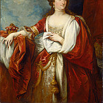 Elizabeth, Countess of Effingham, Benjamin West