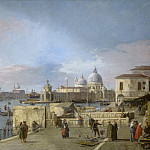 National Gallery of Art (Washington) - Canaletto - Entrance to the Grand Canal from the Molo, Venice