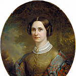 American 19th Century - Portrait of a Lady, National Gallery of Art (Washington)