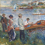 Auguste Renoir – Oarsmen at Chatou, National Gallery of Art (Washington)