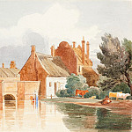 Attributed to James Bulwer – On the Bure, near Aylsham, Norfolk, National Gallery of Art (Washington)