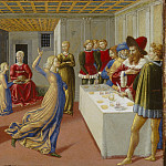 National Gallery of Art (Washington) - Benozzo Gozzoli - The Feast of Herod and the Beheading of Saint John the Baptist