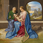 Giorgione - The Holy Family, National Gallery of Art (Washington)