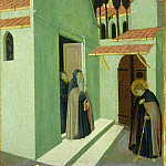 National Gallery of Art (Washington) - Master of the Osservanza (Sano di Pietro) - Saint Anthony Leaving His Monastery