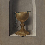 Hans Memling - Chalice of Saint John the Evangelist [reverse], National Gallery of Art (Washington)