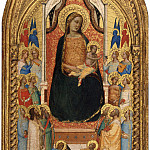 Bernardo Daddi - Madonna and Child with Saints and Angels, National Gallery of Art (Washington)