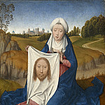 Hans Memling - Saint Veronica [obverse], National Gallery of Art (Washington)