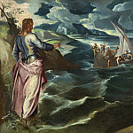 National Gallery of Art (Washington) - Jacopo Tintoretto - Christ at the Sea of Galilee