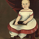 Prior-Hamblin School - Little Girl with Slate, National Gallery of Art (Washington)