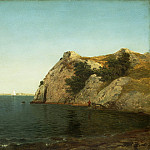 National Gallery of Art (Washington) - John Frederick Kensett - Beacon Rock, Newport Harbor