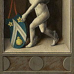 Bernard van Orley – Putto with Arms of Jacques Coene [reverse], National Gallery of Art (Washington)