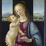 Lorenzo di Credi - Madonna and Child with a Pomegranate, National Gallery of Art (Washington)