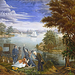 Linton Park - The Burial, National Gallery of Art (Washington)
