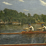 Thomas Eakins - The Biglin Brothers Racing, National Gallery of Art (Washington)