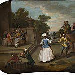 Christophe Huet - Singerie: The Dance, National Gallery of Art (Washington)