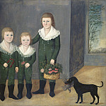 Joshua Johnson - The Westwood Children, National Gallery of Art (Washington)