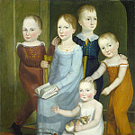 American 19th Century – Five Children of the Budd Family, National Gallery of Art (Washington)
