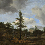 Country House in a Park, Jacob Van Ruisdael