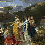 Sebastien Bourdon - The Finding of Moses, National Gallery of Art (Washington)
