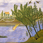 American 19th Century - Village by the River, National Gallery of Art (Washington)