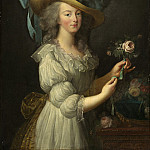 after Elisabeth-Louise Vigee Le Brun - Marie-Antoinette, National Gallery of Art (Washington)