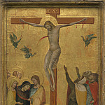 Attributed to Bernardo Daddi - The Crucifixion, National Gallery of Art (Washington)