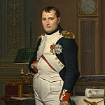 Jacques-Louis David - The Emperor Napoleon in His Study at the Tuileries, National Gallery of Art (Washington)