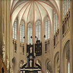 Pieter Jansz Saenredam - Cathedral of Saint John at 's-Hertogenbosch, National Gallery of Art (Washington)