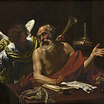 National Gallery of Art (Washington) - Simon Vouet - Saint Jerome and the Angel