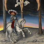 Lucas Cranach the Elder - The Crucifixion with the Converted Centurion, National Gallery of Art (Washington)