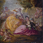 French 18th Century – Divertissement, National Gallery of Art (Washington)