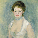 Auguste Renoir - Madame Henriot, National Gallery of Art (Washington)