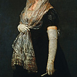 National Gallery of Art (Washington) - Francisco de Goya - Young Lady Wearing a Mantilla and Basquina