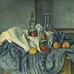 Paul Cezanne - The Peppermint Bottle, National Gallery of Art (Washington)