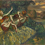 Four Dancers, Edgar Degas