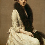 National Gallery of Art (Washington) - Henri Fantin-Latour - Portrait of Sonia