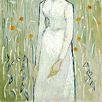 Vincent van Gogh - Girl in White, National Gallery of Art (Washington)