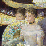 Mary Cassatt - The Loge, National Gallery of Art (Washington)