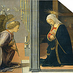 The Annunciation, Fra Filippo Lippi