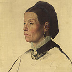 Alphonse Legros - Portrait of a Woman, National Gallery of Art (Washington)