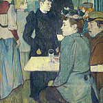 Henri de Toulouse-Lautrec – A Corner of the Moulin de la Galette, National Gallery of Art (Washington)