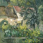 Paul Cezanne - House of Pere Lacroix, National Gallery of Art (Washington)