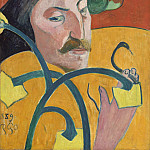 Paul Gauguin - Self-Portrait, National Gallery of Art (Washington)