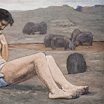 Pierre Puvis de Chavannes - The Prodigal Son, National Gallery of Art (Washington)