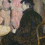 Henri de Toulouse-Lautrec - Maxime Dethomas, National Gallery of Art (Washington)