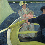 Mary Cassatt - The Boating Party, National Gallery of Art (Washington)