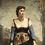 Jean-Baptiste-Camille Corot – Agostina, National Gallery of Art (Washington)
