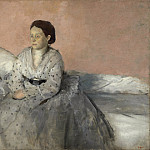 Edgar Degas - Madame Rene de Gas, National Gallery of Art (Washington)