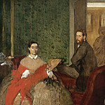 Edgar Degas - Edmondo and Therese Morbilli, National Gallery of Art (Washington)