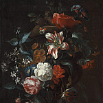 Philip van Kouwenbergh - Flowers in a Vase, National Gallery of Art (Washington)